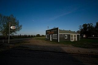 Pangman Village in Saskatchewan, Canada