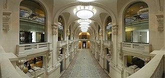 Gaston Redon - interior, Museum of Decorative Arts, Louvre, 1905