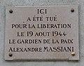 Panthéon de Paris plaque Libération de Paris.jpg
