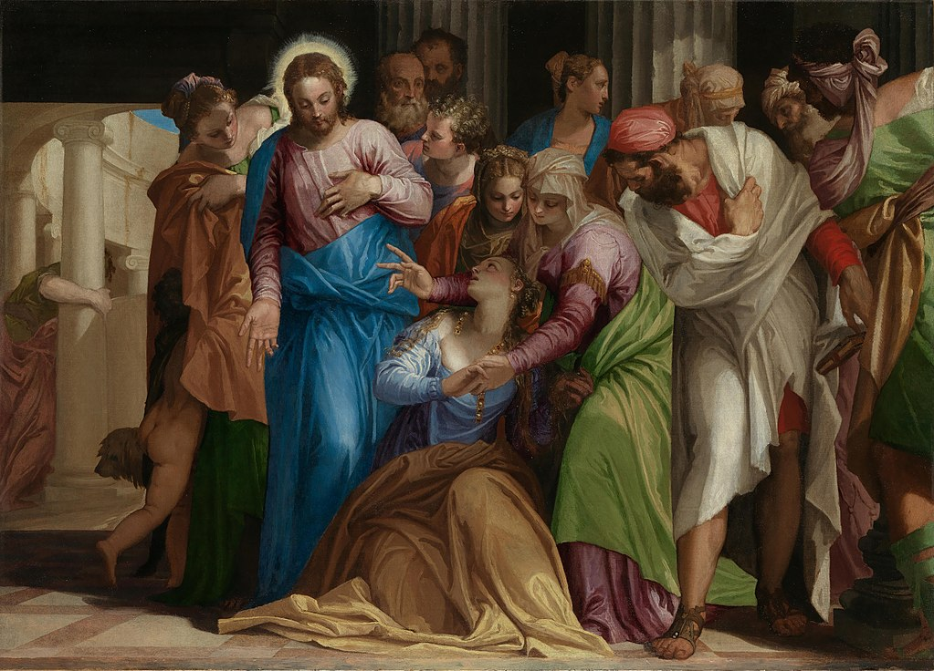 Paolo Veronese, The Conversion of Mary Magdalene