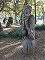 "Papua New Guinea Sculpture Garden at Stanford University, ""The Thinker"" 1.jpg"