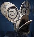 Papua nuova guinea, nuova bretagna occidentale, maschera da danza di baining, XIX sec.JPG