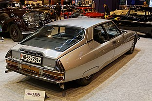 Paris - Retromobile 2014 - Citroën SM automatique - 1973 - 003.jpg