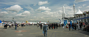 Paris Air Show 2007 at Le Bourget