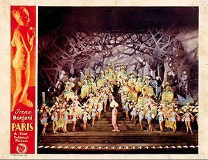 Paris (1929 film) - Lobby card