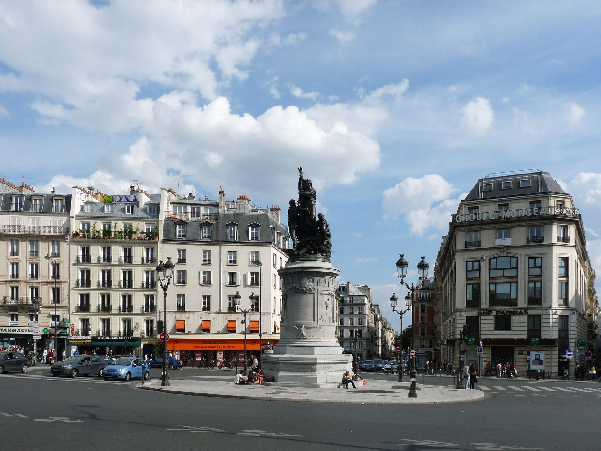 place de clichy wikip dia. Black Bedroom Furniture Sets. Home Design Ideas