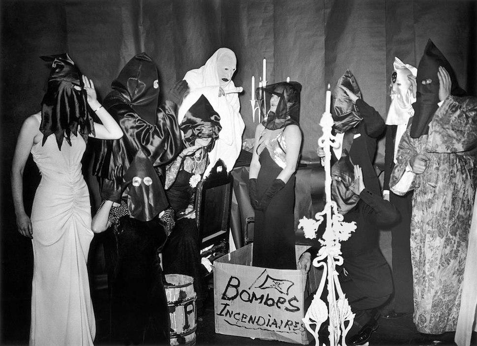 Parisian Members of la Cagoule in 1937
