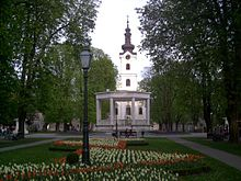 Park and bandstand in Bjelovar, Croatia.jpg
