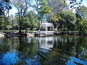Sarmiento Park - The duck lake