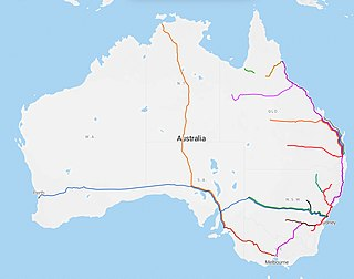 Rail transport in Australia Transportation system in Australia