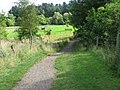 Path at the sheep paddocks in Dean Castle Country Park - geograph.org.uk - 549781.jpg