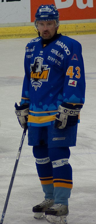 Asia League Ice Hockey - During his time in the league Patrik Martinec consistently found himself around the top of the points ranking, including winning four titles and an MVP award.