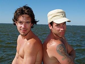 Paul Dawson and PJ DeBoy in August of 2008 on ...