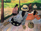 Figurative Painting of Gauguin