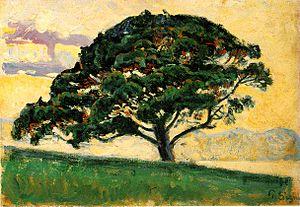 Paul Signac: The Pine, Saint Tropez, 1892-1893