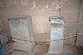 Pedestals in acropolis of Lindos 2010.jpg