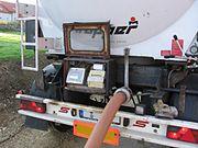 On-Board Wiegesystem eines Silofahrzeugs für Holzpellets