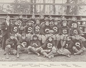 1894 Penn State Nittany Lions football team - Image: Penn State Football 1894