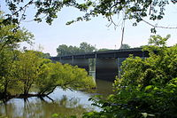 Pennsylvania Route 45 bridge over the West Branch Susquehanna River.JPG