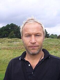 Per-Ulrik Johansson Swedish professional golfer