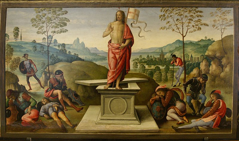 File:Perugino - La résurrection du Christ.jpg