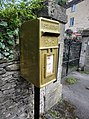 Pete Reed's gold postbox in Watledge Road, Nailsworth, Gloucestershire (2).jpg