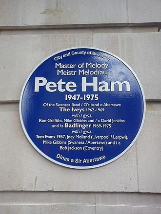 Bob Jackson (musician) - Peter Ham Blue Plaque