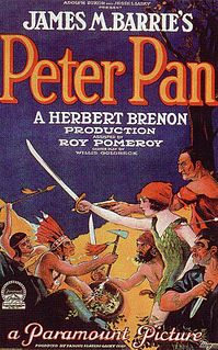 <i>Peter Pan</i> (1924 film) 1924 film by Herbert Brenon