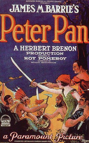 Peter Pan (1924 film) - original film poster