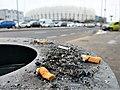Pety Poznan przy stadionie Lecha.jpg