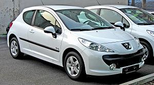 Peugeot 207 - Image: Peugeot 207 3 Türer front
