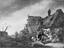 Philips Wouwerman - Outside an Inn - KMSsp483 - Statens Museum for Kunst.jpg