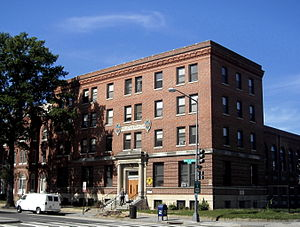 Shaw, Washington, D.C. - The Phillis Wheatley YWCA, built in 1920, is listed on the National Register of Historic Places