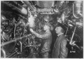 Photograph of the Engine Room of an Oil-Burning German Submarine - NARA - 533183.tif