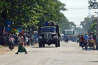 Pyu Town in Bago Region, Myanmar