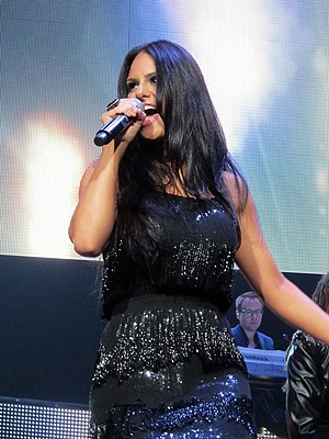 Pia Toscano - Toscano performing on July 13, 2011