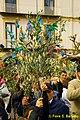 Piano di Sorrento (NA), 2010, Benedizione delle palme decorate con confetti e latticini..jpg