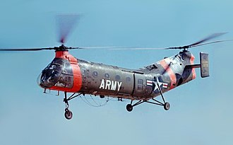Piasecki H-21 - A US Army Piasecki H-21