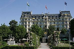 Beau-Rivage Palace - Image: Picswiss VD 46 35