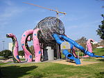 PikiWiki Israel 11690 octopus slide in menachem begin park in bat-yam.jpg