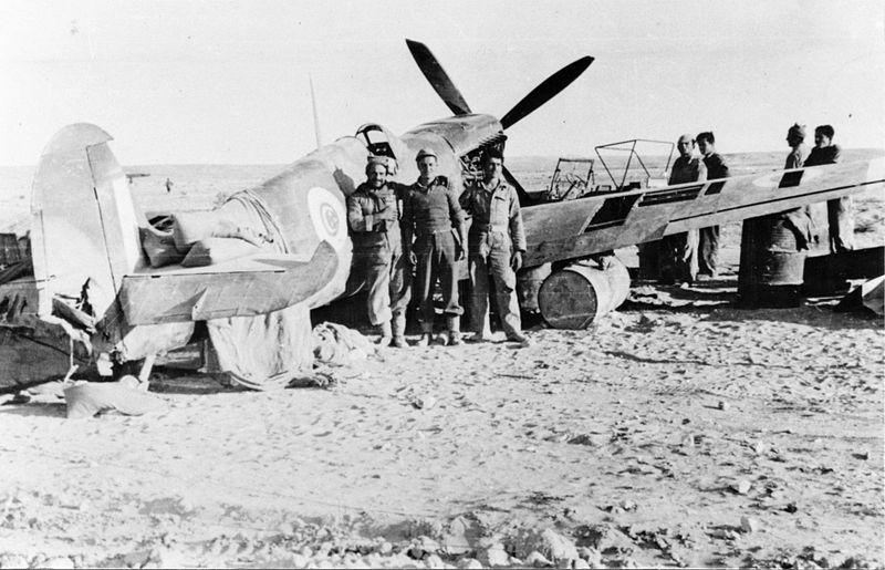 מטוס בריטי שהופל  במבצע חורב
