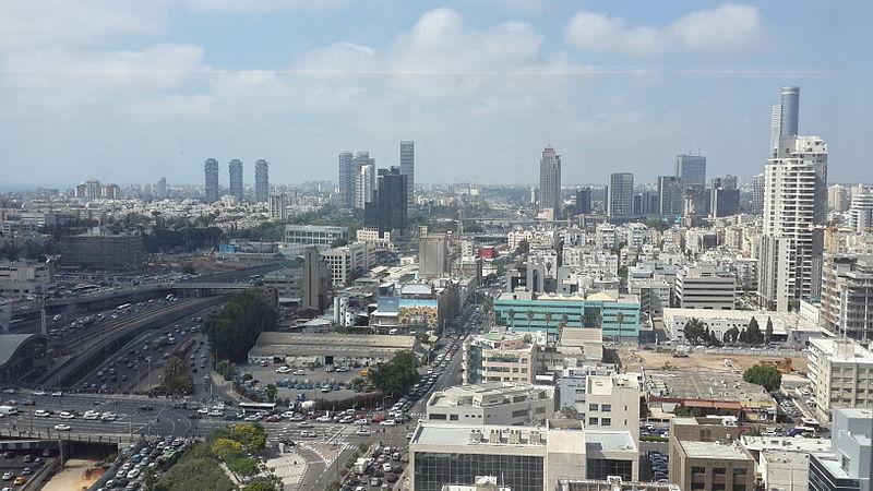 מבט על תל אביב מלמעלה