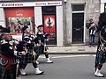 Pipe band in high street in Jedburgh 2.jpg