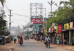Pipili - Main street of Pipili
