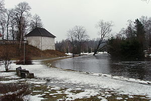 Pirita (river) - Image: Pirita jõgi. Kevadine üleujutus Kosel