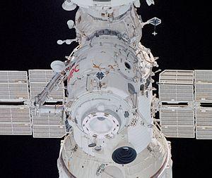 *Pirs docking module taken by STS-108 (NASA) *...