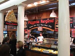 Regina Pizzeria - Regina Pizzeria in Quincy Market in Boston