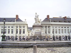 Flemish Government - The Flemish Government cabinet offices are located at the Martyrs' Square in Brussels