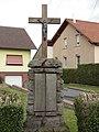 Plaine-de-Walsch (Moselle) croix de chemin C.jpg