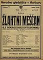 Plakat za predstavo Žlahtni meščan v Narodnem gledališču v Mariboru 2. februarja 1926.jpg